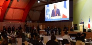 Benjamin Netanyahu talte på klimatoppmøtet i Paris mandag 30. november 2015. (Foto: PMO / Flickr.com)