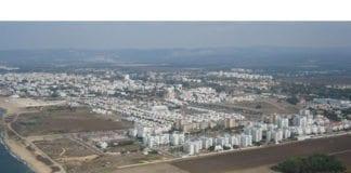 Rakettalarmen gikk i den nord-israelske byen Nahariya søndag ettermiddag. (Illustrasjonsfoto: Wikimedia Commons)