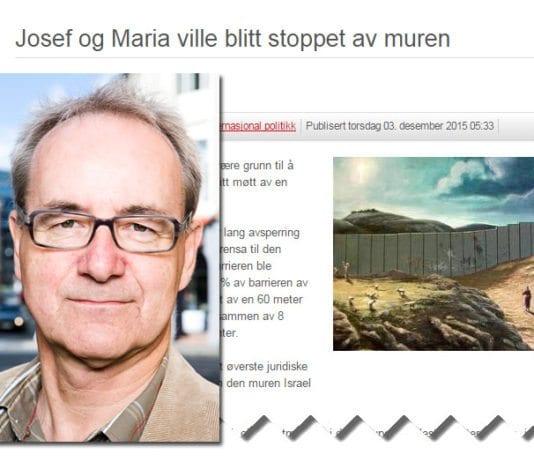 Skjermdump av Ivar Johansens blogginnlegg. Innfelt et portrett av SV-politikeren. (Foto: ivarjohansen.no)
