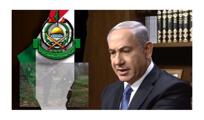 Skjermdump fra intervju med Netanyahu i november 2014.