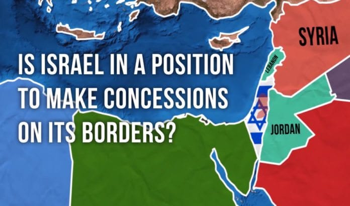 Skjermdump fra den nye filmen fra Jerusalem Center for Public Affairs.