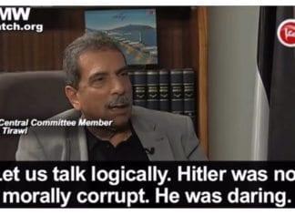 Tawfiq Tirawi på Ma'an TV 16. januar 2016 (via PMW).