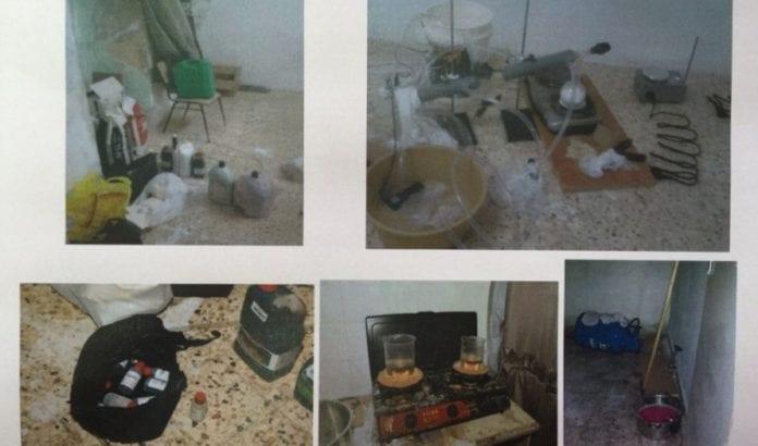 Fra leiligheten i Abu Dis (Foto: Times of Israel)