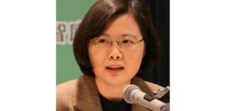 Taiwans president Tsai Ing-wen.