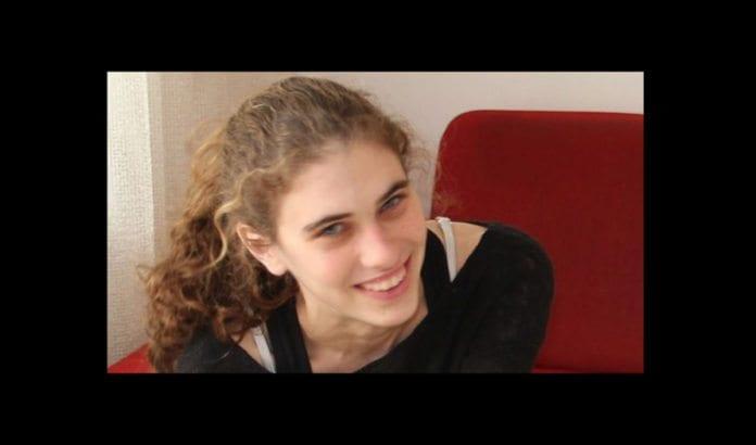 Shlomit Krigman (24) døde av skadene etter knivangrepet i Beit Horon 25. januar 2016. (Foto: Facebook)