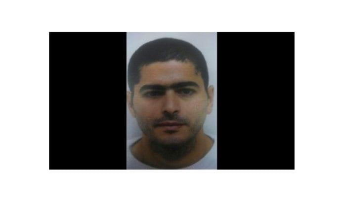 Nashat Milhem, den israelske araberen som drepte tre personer i Tel Aviv 1. januar 2016. (Israelsk politi, via Times of Israel)