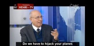Nabil Shaath på Awdha TV 1. februar 2016. (Skjermdump via Memri)