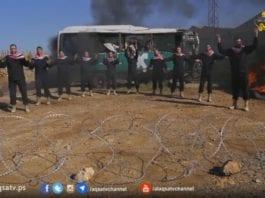 Musikkvideo fra Hamas (Skjermdump)