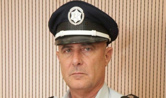 Direktør for Israels brann- og redningstjeneste Shahar Ayalon (Foto: Times of Israel)