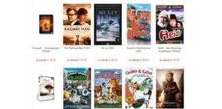 Noen av de mange filmene på torget.miff.no som er på tilbud.
