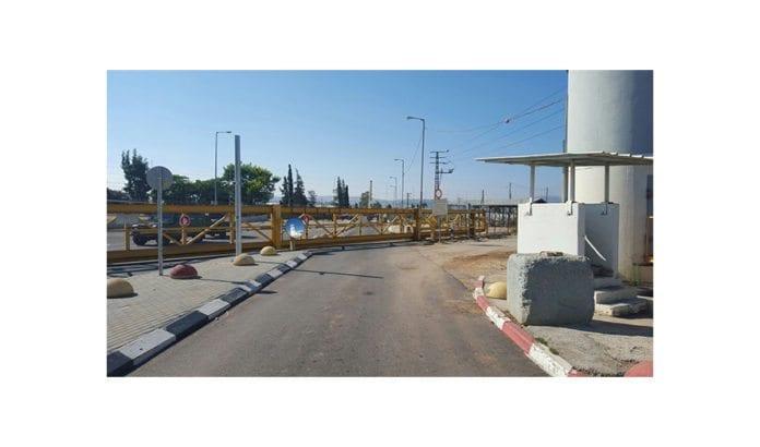 Kontrollposten Jalame utenfor Jenin. (Illustrasjonsfoto: Det israelske forsvarsdepartementet)