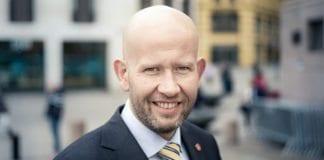 Olje- og energiminister Tord Lien (FrP). (Foto: Alexander Helberg, Fremskrittspartiet, flickr)