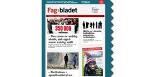 Skjermdump av Fagbladets e-post 29. februar 2016.