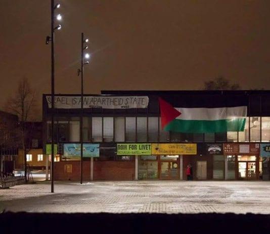 Skjermdump av bilde publisert på Facebook-siden til BDS Norge.