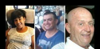 Disse tre israelerne ble drept av en selvmordsbomber i Istanbul 19. mars 2016. Fra venstre: Simha Dimri, Yonatan Suher og Avraham Goldman. (Foto: Privat / Facebook via JTA)