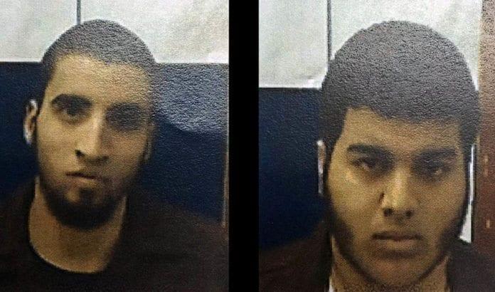 Ahmad Nabil Ahmad Ahmad og Bahaa Ziad Hasan Masarwa er arrestert for terrorplanlegging og støtte til IS. (Foto: Shin Bet)