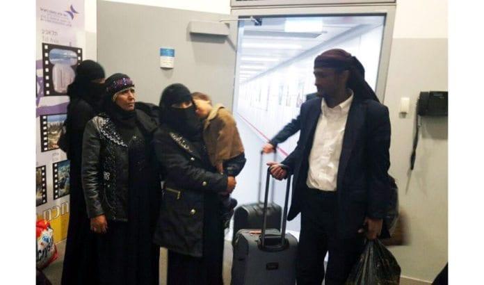 Jemenittiske jøder ankommer Israel søndag 20. mars 2016. (Foto: Jewish Agency)