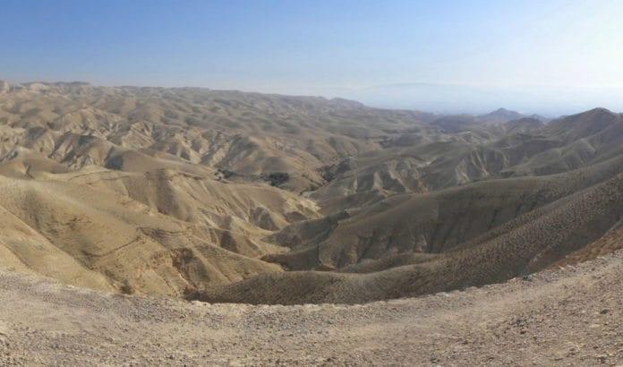 Ørkenlandskap i nærheten av det omdiskuterte området i Judea. (Illustrasjonsfoto: Ian Scott / Flickr.com / CC)