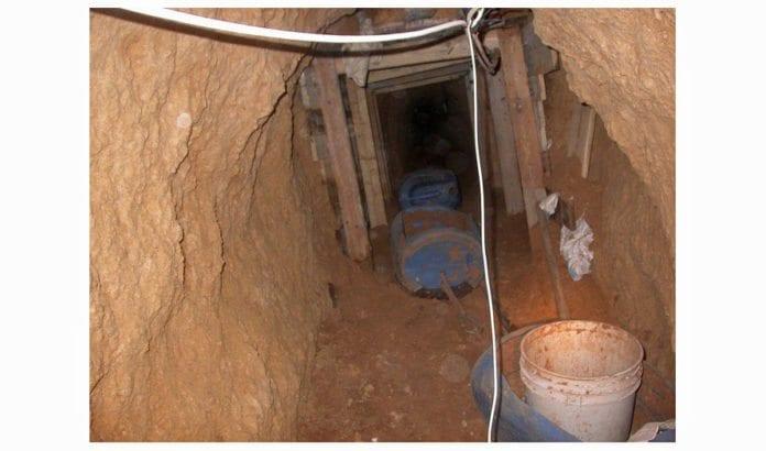 Her ser vi en av terrortunnelene under Gaza som tidligere er avdekket av det israelske forsvaret. (Illustrasjonsfoto: IDF / Flickr.com)