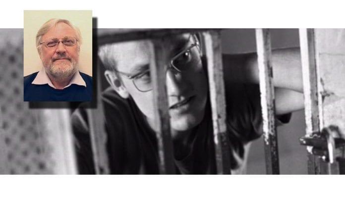 Samme siktemål i libanesisk fengsel i 1977 og som førsteamanuensis i 2016: Å skade israelere. (Foto: via VG TV og HiAO)