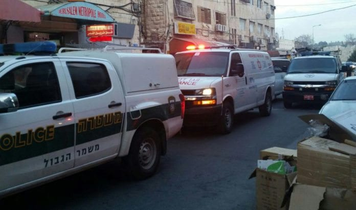 Her begikk en palestinsk terrorist skyteangrep tirsdag 8. mars. (Foto: Magen David Adom)