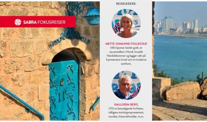 Mette Johanne Follestad og Hallgrim Berg er reiseledere på MIFFs vårtur.