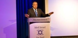 Hilik Bar er viseordfører i Knesset. Han besøkte MIFFs europeiske Israel-konferanse. (Foto: Tor-Bjørn Nordgaard)