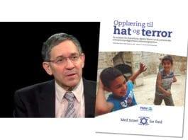 """Itamar Marcus er en av forfatterne av rapporten """"Opplæring til hat og terror"""" som MIFF utgir på norsk."""