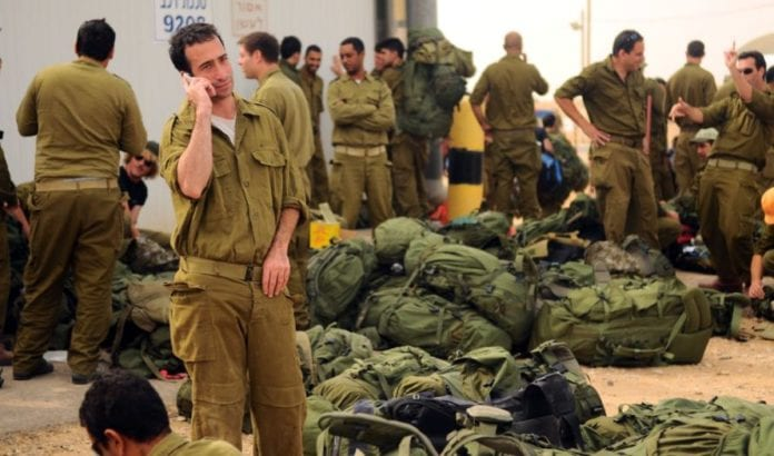 Israelske reservesoldater (Illustrasjon: Israel Defense Forces, flickr.com)