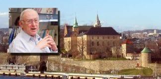 Akershus festning. Innfelt professor Asa Kasher. (Foto: Wikimedia Commons og Shalem)