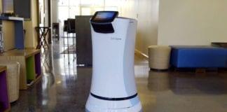 """Roboten Savione kan """"se"""" på grunn av teknologi fra Israel (Foto: Skjermdump fra Youtube)"""