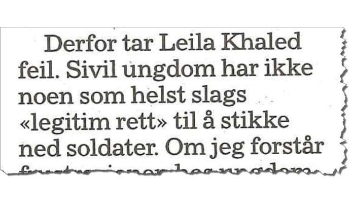 Faksmile Klassekampen 15. juli 2016.