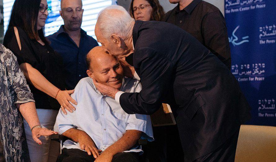 e4311464 Tidligere president Shimon Peres på en 40-årsmarkering for Operasjon  Entebbe ved Peres Center for