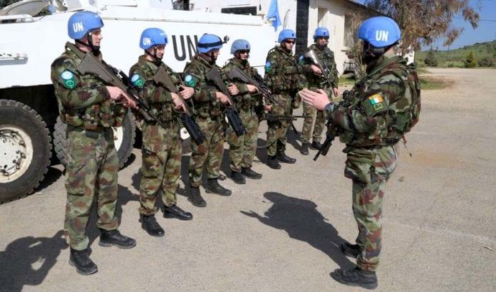 FN-soldater på Golan-høydene, (Illustrasjonsfoto: Irish Defence Forces / Flickr.com)