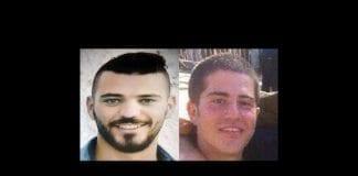 Husam Tafash og Shlomo Rindenow ble drept da en granat eksploderte ved et uhell på Golan-høydene. (Foto: Privat)