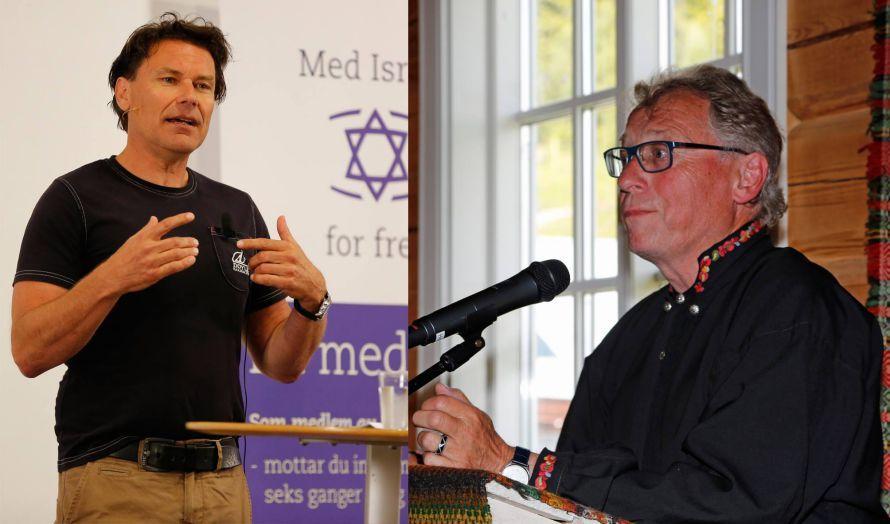 Jens Jorde og Hallgrim Berg på det første møtet i MIFF Voss