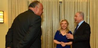 Benjamin og Sarah Netanyahu sammen med Egypts utenriksminister Sameh Shoukry i Jerusalem 10. juli 2016. (Foto: Den israelske statsministerens kontor / Flickr.com)