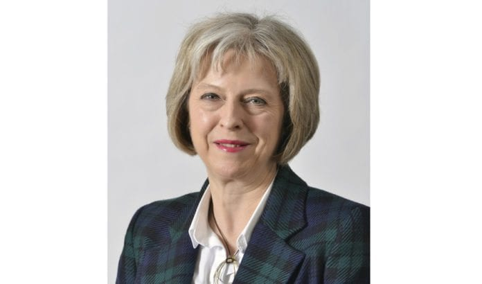 Theresa May fra The Conservative Party er ny statsminister i Storbritannia fra 13. juli 2016. (Foto: Wikimedia Commons)