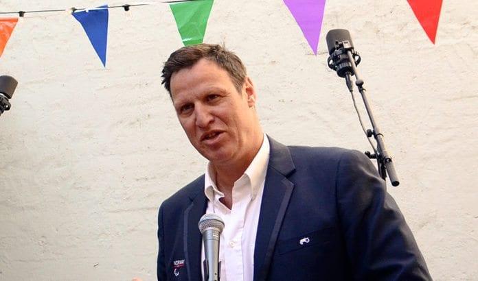 Idrettspresident Tom Tvedt. (Foto: Barne- og likestillingsdepartementet, flickr)
