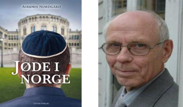 Asbjørn Nordgård. Bokens forside til venstre.