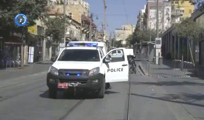 Her forsøkte en palestinsk terrorist å drepe flest mulig trikkepassasjerer 17. juli 2016. (Foto: Skjermdump fra YouTube)