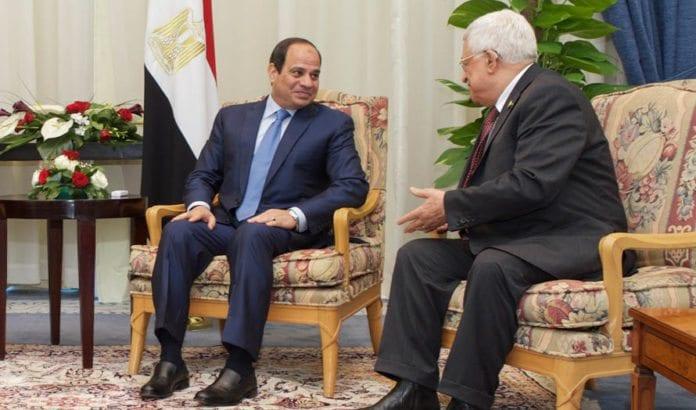 Egypts president Abdel-Fattah Al-Sisi i samtale med Mahmoud Abbas. (Illustrasjonsfoto: Det amerikanske utenriksdepartementet / Flickr.com)