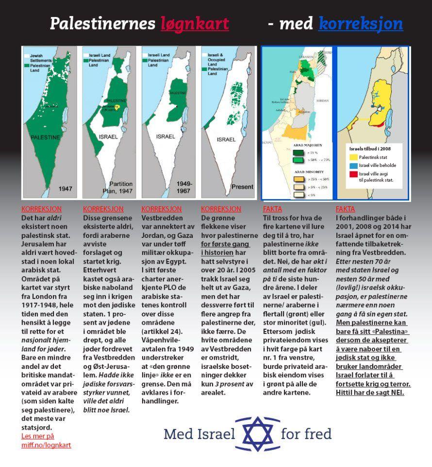 Se opp for kart som lyver!