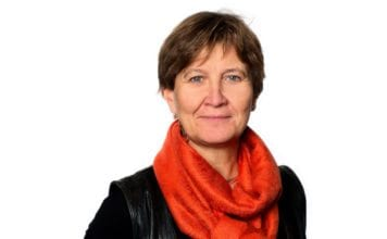 Mette Nord, leder i Fagforbundet. (Foto: Trond Isaksen)