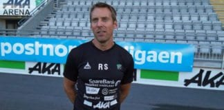 Fotballtrener René Skovdahl har fått jobb i Israel. (Foto: Skjermdump fra video på honefossbk.no)