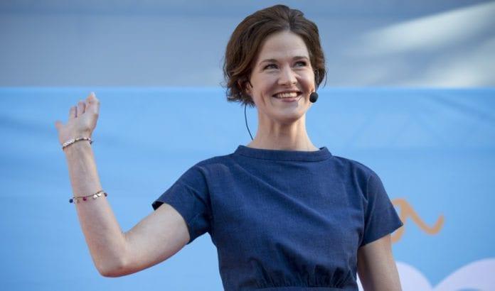 Det svenske partiet Moderatarnas leder Anna Kinberg Batra. (Foto: Per Pettersson / Flickr.com / CC)