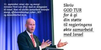 Skriv GOD TUR i kommentarfeltet.