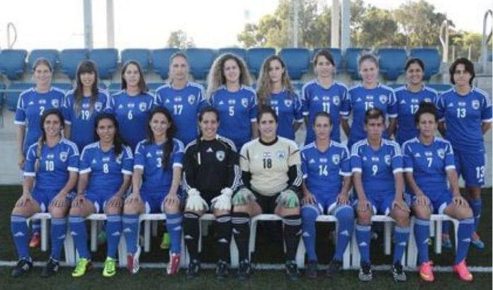 Israels damelandslag i fotball (Foto: Israels fotballforbund)