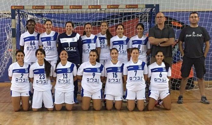 Spillere og trenere i H.C. Holon (Foto: H.C. Holons nettside)