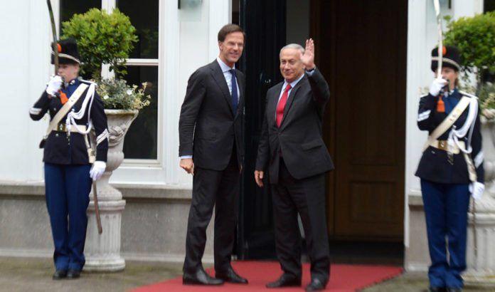 Israels statsminister Benjamin Netanyahu i møte med Nederlands statsminister Mark Rutte tirsdag 6. september 2016. (Foto: GPO / Flickr.com)